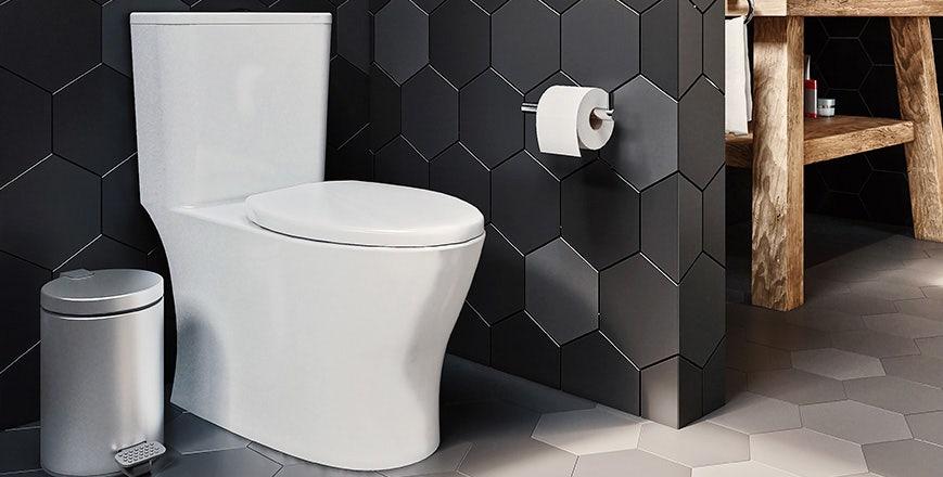 Baño Nórdico Negro WC